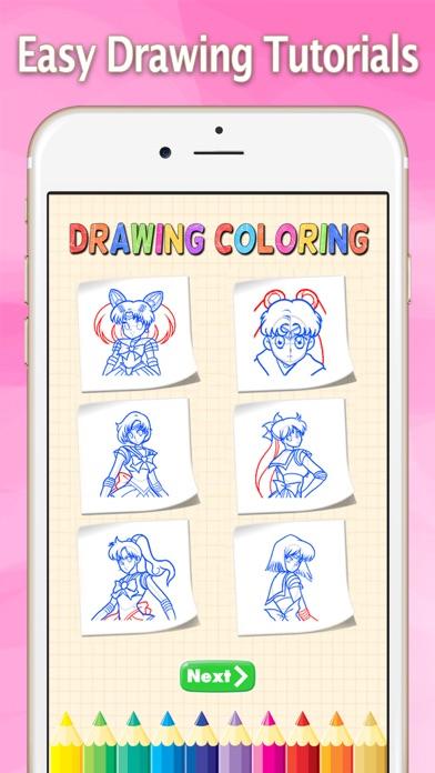 点击获取How to Draw for Sailor Moon : Drawing and Coloring