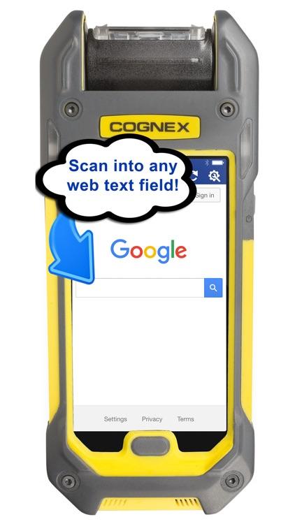 Enterprise Browser for Cognex