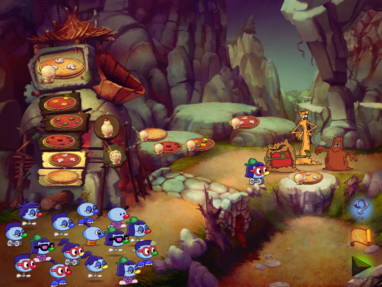 Zoombinis screenshot two