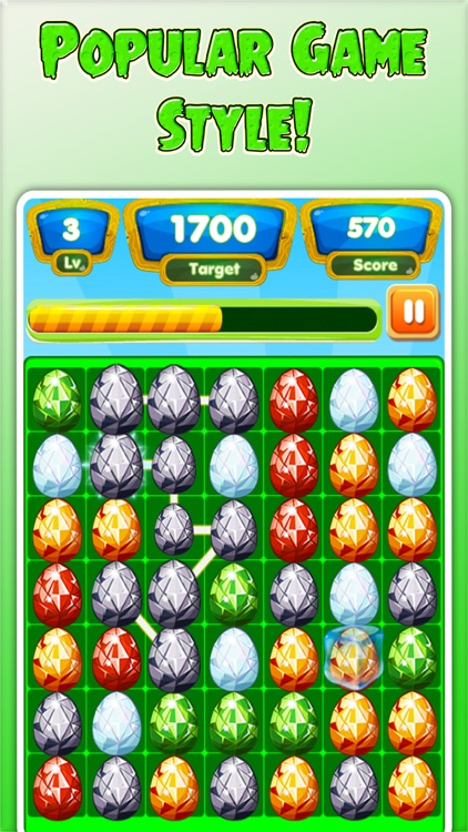 Jewel Pop Star Quest - Link & Crush Matching Game