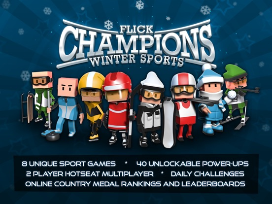Flick Champions Winter Sports Screenshot