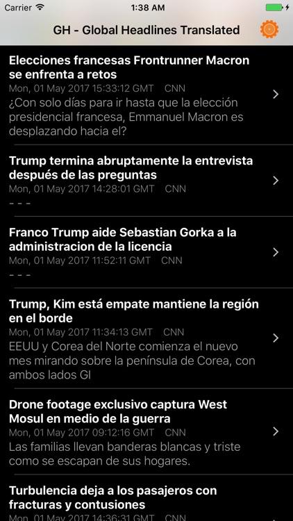 GH-Global Headlines Translated screenshot-4