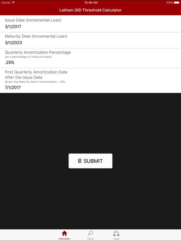 oid threshold calculator app price drops