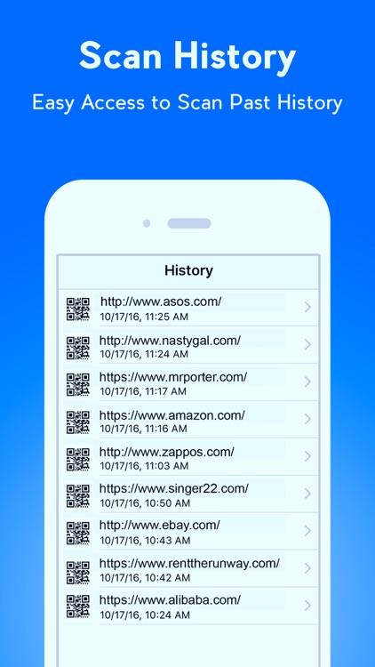 QR Code Reader - QR Scanner & QR Code Generator screenshot-4