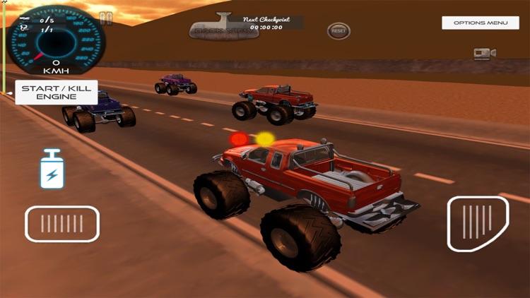 3d Monster Truck Race 2017
