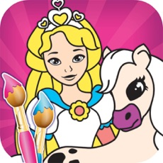 Activities of Princess Color Book - Painting Pic