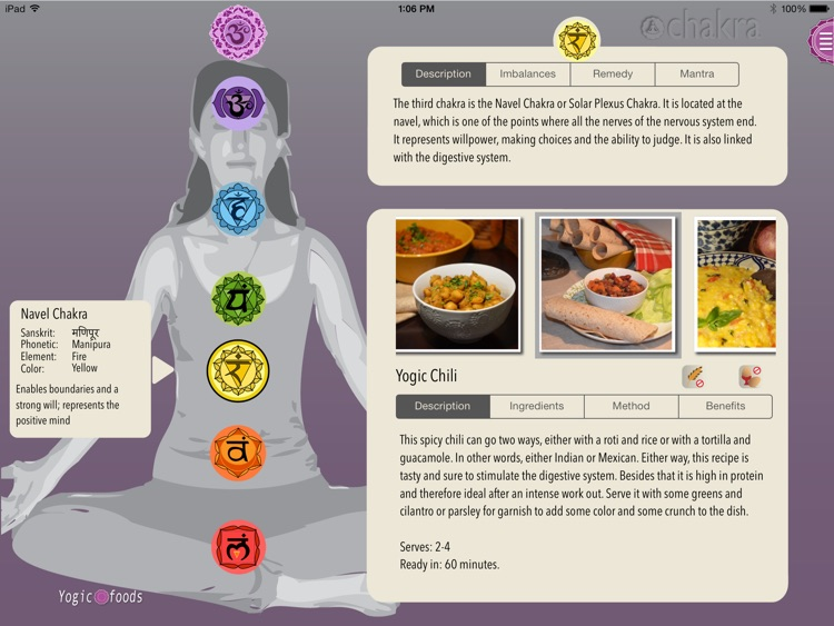 Yogicfoods - Vegetarian and vegan recipes screenshot-0