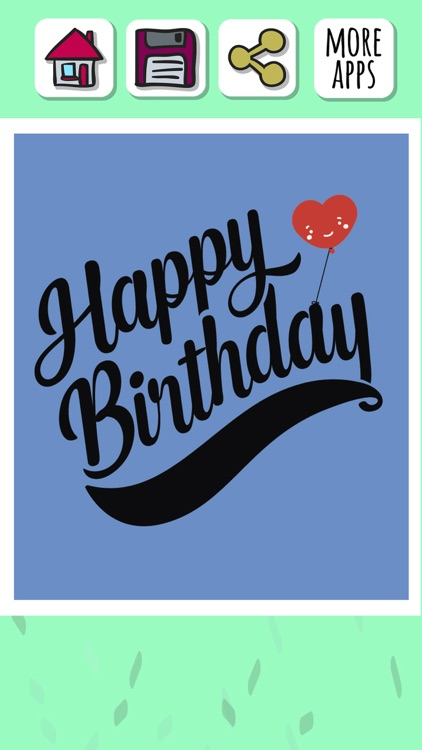 Happy birthday greeting cards – Create stickers screenshot-3