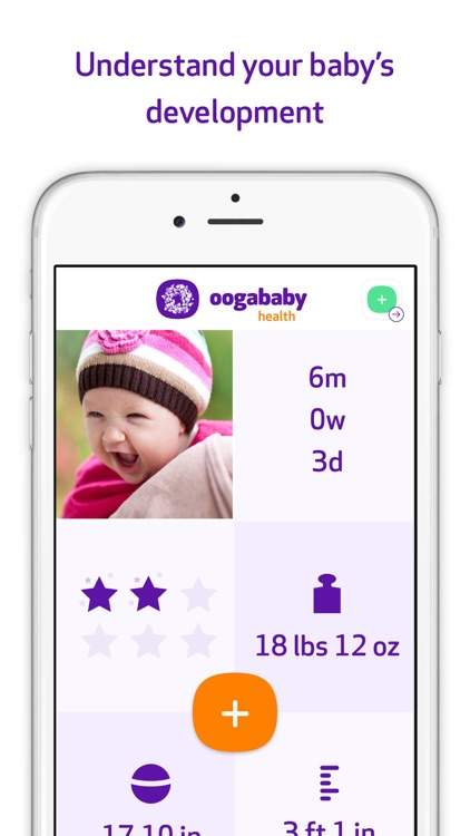 Oogababy Health : Your baby's development
