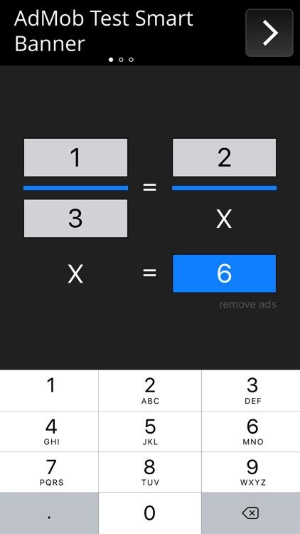 Rule of Three Calculator