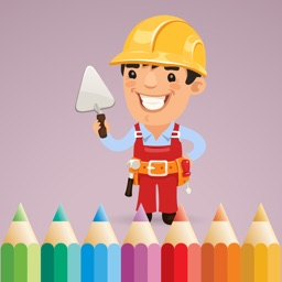 Coloring Book of Occupations & Jobs for Kids