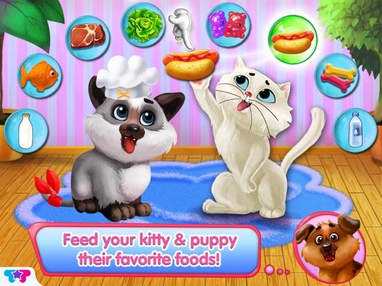 Kitty & Puppy: Love Story на iPad