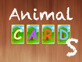 Animal Cards stickers comes with pictures and names of animals on cards
