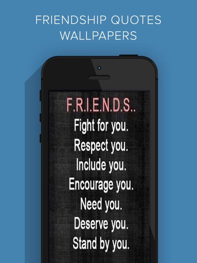 Friendship Quotes Wallpapers Hd On The App Store