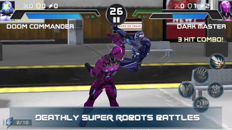 Steel Superheros Fighting Club