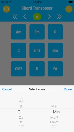 Chord Transposer on the App Store