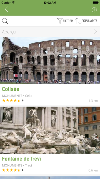 Guide de Rome (avec carte offline) - mTrip