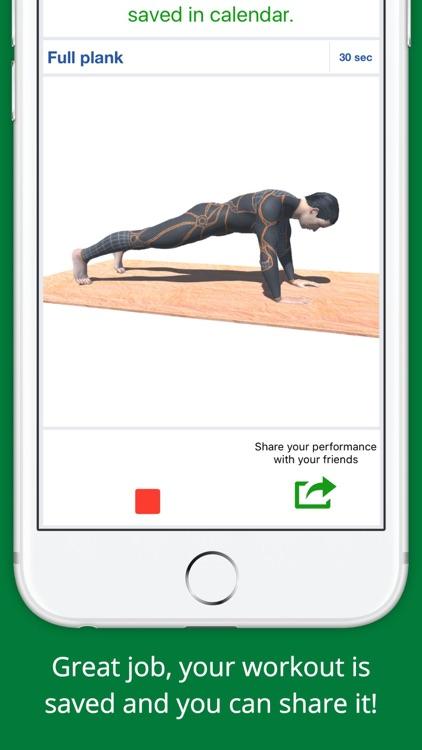 5 Min Super Plank Workout Challenge PRO - Abs,Core screenshot-3