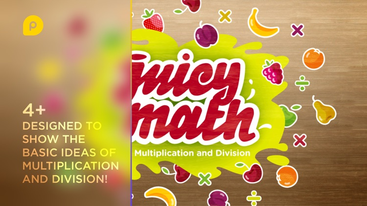 Juicy Math: Multiplication Division screenshot-0