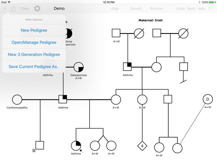 Proband - Pedigrees Made Simple screenshot-3