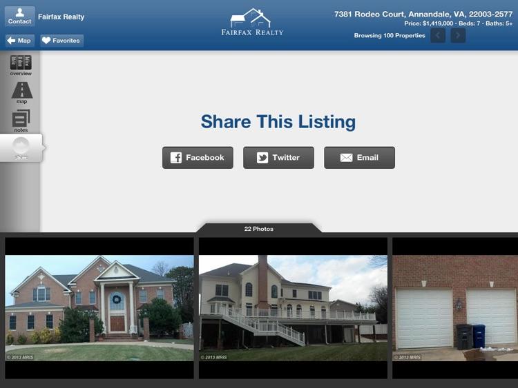 Fairfax Realty for iPad screenshot-3