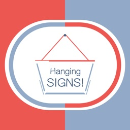 Hang a Sign! II (Red/Blue)