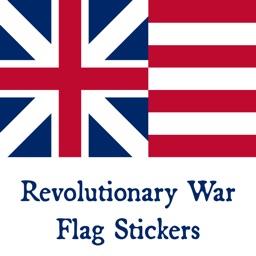 Revolutionary War Flag Stickers