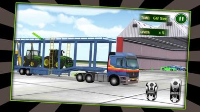 Piloto de aviones de carga de tractores 3DCaptura de pantalla de1