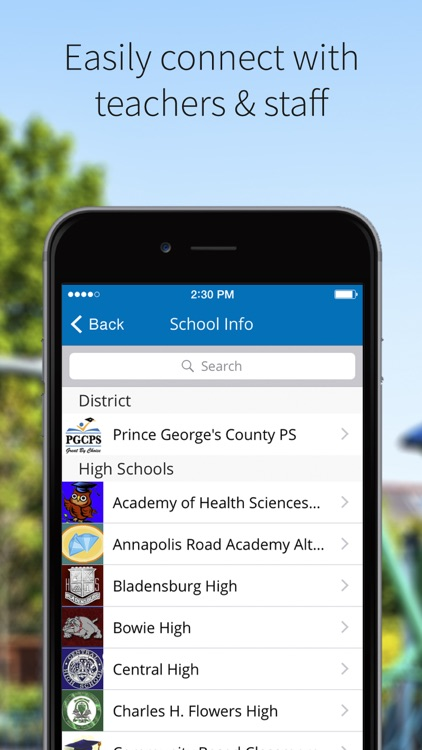 Prince George's County PS