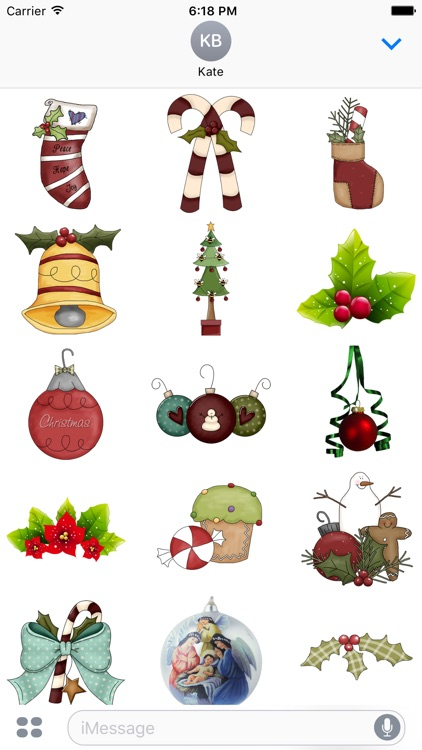 Christmas Stickers #4 for iMessage screenshot-2