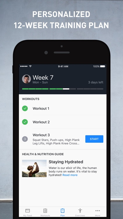 Runtastic Results: Workout & Bodyweight Training