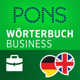 Dictionary German - English BUSINESS by PONS