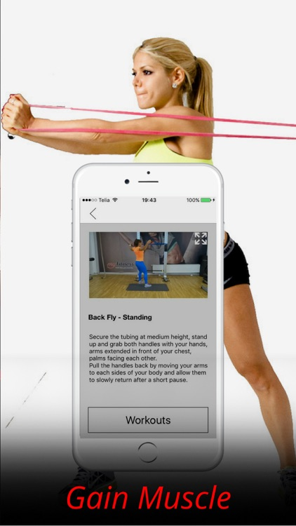 Resistance Band Exercises and Workout Routine screenshot-4