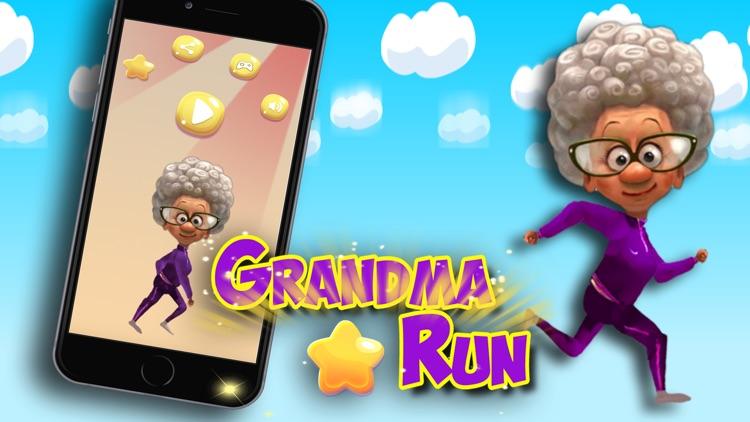 Grandma runner : speed run kids