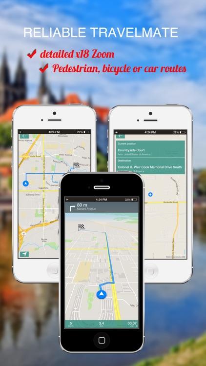 Vancouver, Canada : Offline GPS Navigation screenshot-3