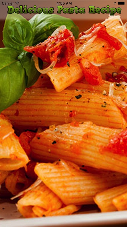 Delicious Pasta Recipe screenshot-0