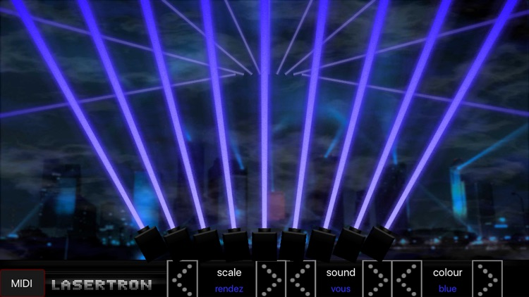 Lasertron Ultimate Laser Harp with MIDI