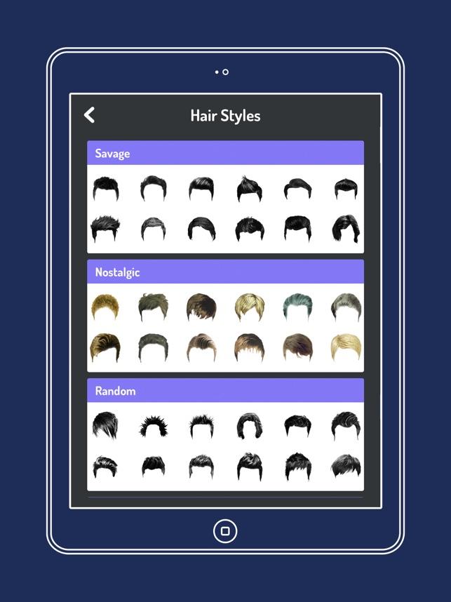 Mens Hairstyle Changer En App Store