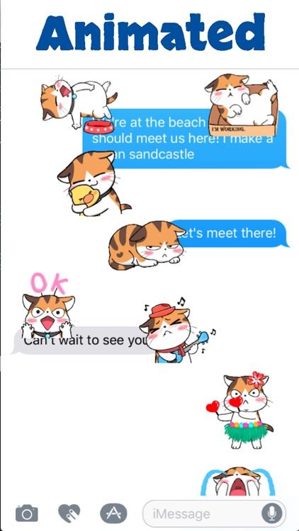 Cute Meow Animated