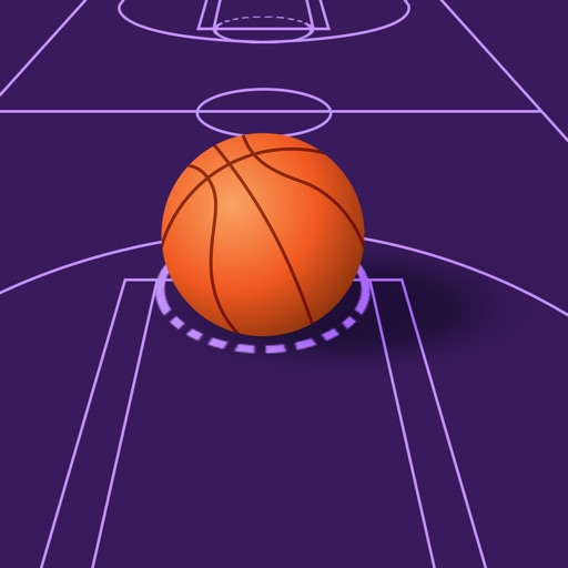 Ultimate Space Basketball Match application logo