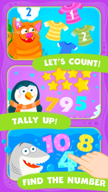 Animal Number Games for Toddlers Fun Math Games screenshot-3