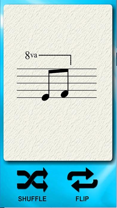 Musical Symbols Flash Cards