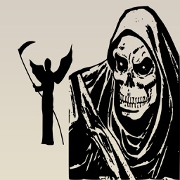 Grim Reaper : Death is Coming Stickers