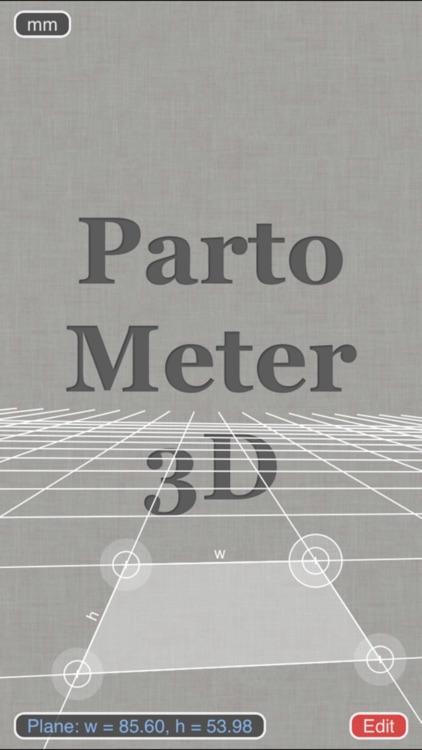 Partometer3D measure on photo