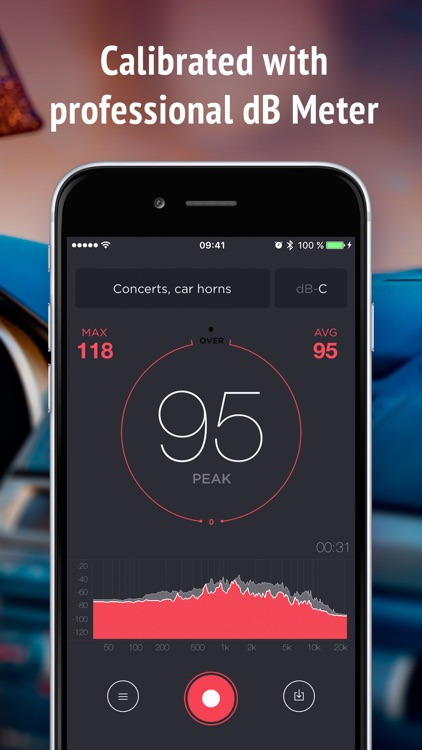 Decibel Meter - sound level db measurement tool screenshot-4