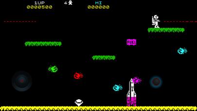 Space Jetpac ZX Spectrum HD screenshot one