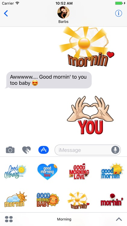Good Morning Stickers & More