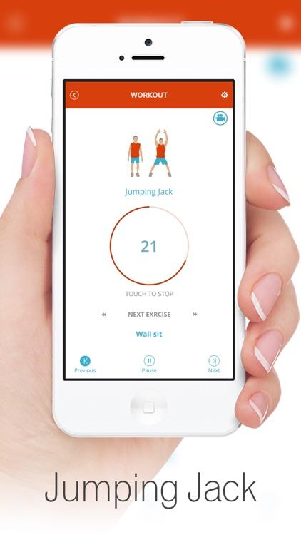 7 Minute Workout - Weight Loss screenshot-3