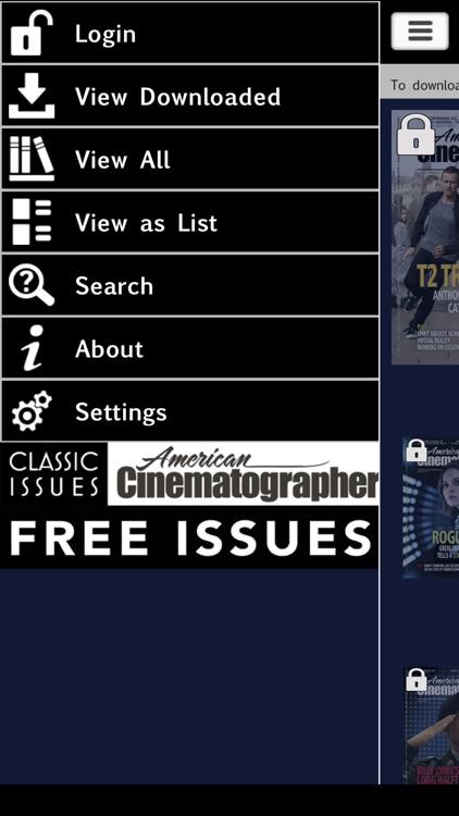 American Cinematographer Magazine screenshot-3