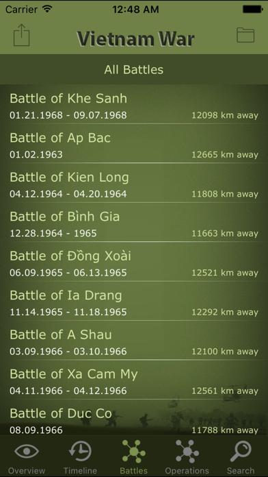 Vietnam War Battles screenshot two